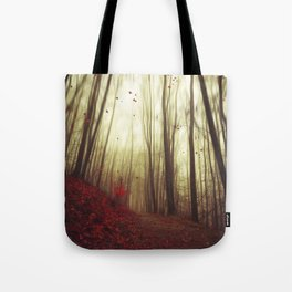 Leaf by Leaf Tote Bag