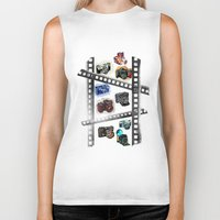 cameras Biker Tanks featuring Iconic Cameras! by CRankin