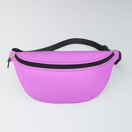 From The Crayon Box – Pink Flamingo - Bright Pink Purple Solid Color Fanny Pack
