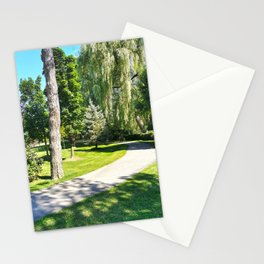 Walk in a Summer Park Stationery Cards