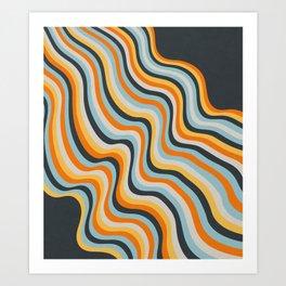 Dancing Lines Art Print
