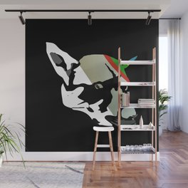 Fossil Dog Wall Mural