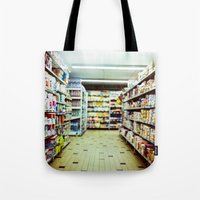 shopping Tote Bags featuring Shopping by jmdphoto