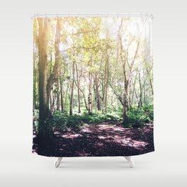 Dappled Forest Shower Curtain