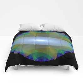 Colorful Discs of the Nile Comforters