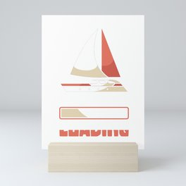 Sailing skill loading Mini Art Print