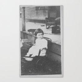 Child in Stroller Canvas Print