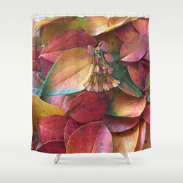 Forest Leaves in Holland Shower Curtain