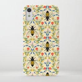 Bee Garden - Cream iPhone Case