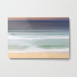 The Beach at Nisabost Metal Print