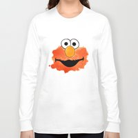 elmo Long Sleeve T-shirts featuring ElmO by Cookstar