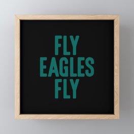 Fly Eagles Fly Philadelphia Football Framed Mini Art Print