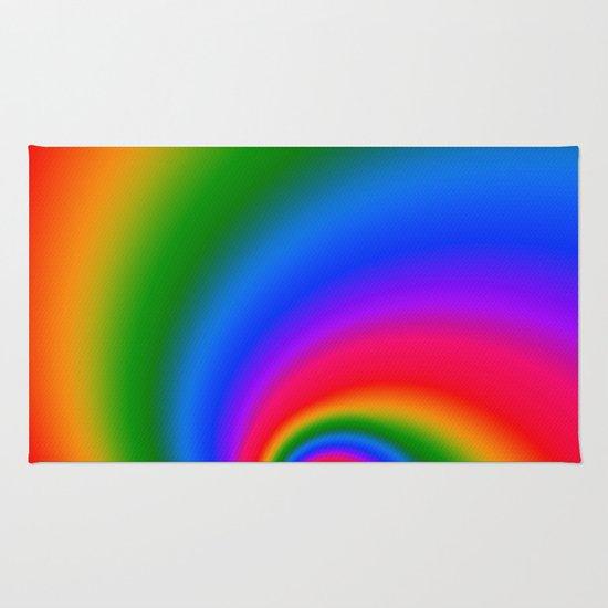 Magic Rainbow Rug