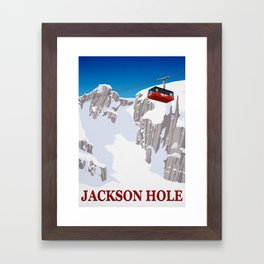 Jackson Hole Framed Art Print