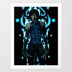 Only the Avatar Art Print
