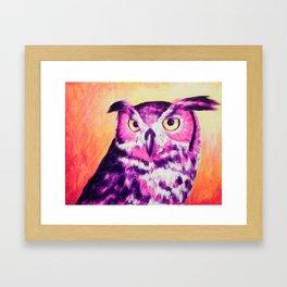 Owl Creep You Out  Framed Art Print
