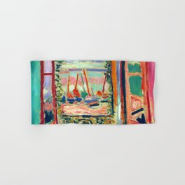 Henri Matisse Open Window at Collioure Hand & Bath Towel