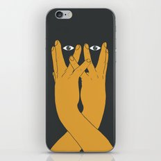 Hands mask iPhone & iPod Skin