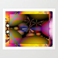 starfish Art Prints featuring Starfish by Robin Curtiss