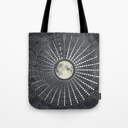 Phases // Moon Calendar 2017 Tote Bag