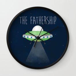The Fathership Wall Clock