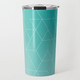 Diamonds, Hexagons and Triangles Travel Mug