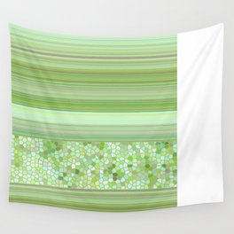 GRAPHIC POP - pastell green Wall Tapestry