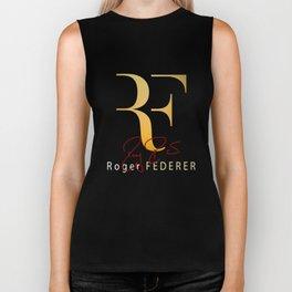 RF is Roger Federer Biker Tank