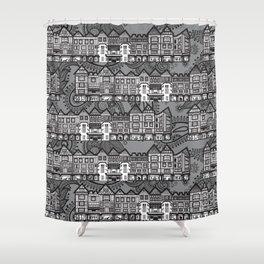 Liberty store. London Shower Curtain