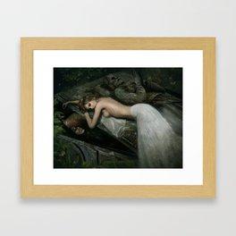 The Highgate Vampire Framed Art Print