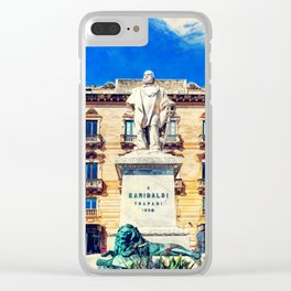 Trapani art 17 Sicily Clear iPhone Case