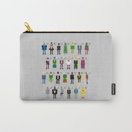 Pixel Supervillain Alphabet Carry-All Pouch