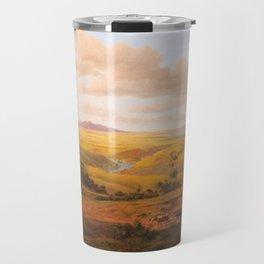 View of Geelong by Eu von Guerard Date 1856  Romanticism  Landscape Travel Mug