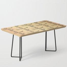 Aldus Manutius Printer Mark Coffee Table
