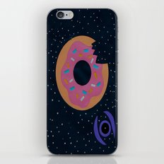donut death star iPhone & iPod Skin