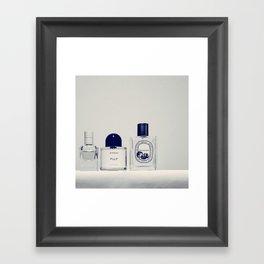 the scent ver.beige Framed Art Print