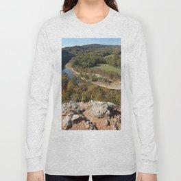 Sparrowhawk Mountain Series, No. 4 Long Sleeve T-shirt