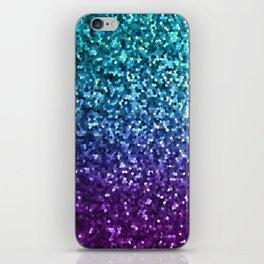 Mosaic Sparkley Texture G198 iPhone Skin
