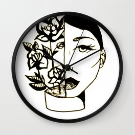 feed your head Wall Clock