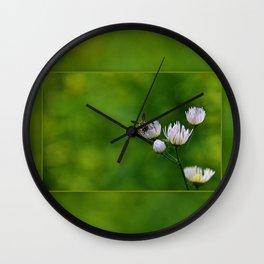 Wildflower Landing ~ Ginkelmier Inspired Wall Clock