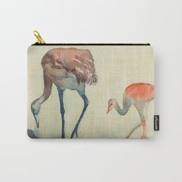 Spring Cranes Carry-All Pouch