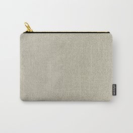Champagne Sand Glitter Carry-All Pouch
