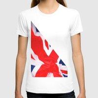 british flag T-shirts featuring Im British by Stitched up designs