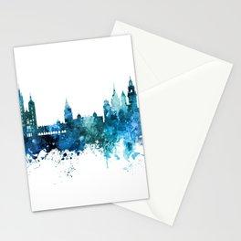 Krakow Poland Skyline Stationery Cards