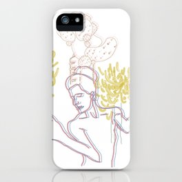 Africana iPhone Case