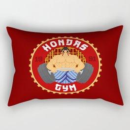 Honda's Gym Rectangular Pillow