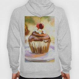 Cupcake with cherry Hoody