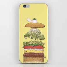 It's Burger Time! iPhone & iPod Skin