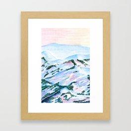 Mountain Scene I Framed Art Print