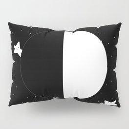 Moon Phases: First quarter Pillow Sham